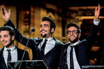 Il Volo a Festival Show 2018: il trio ospite della finale