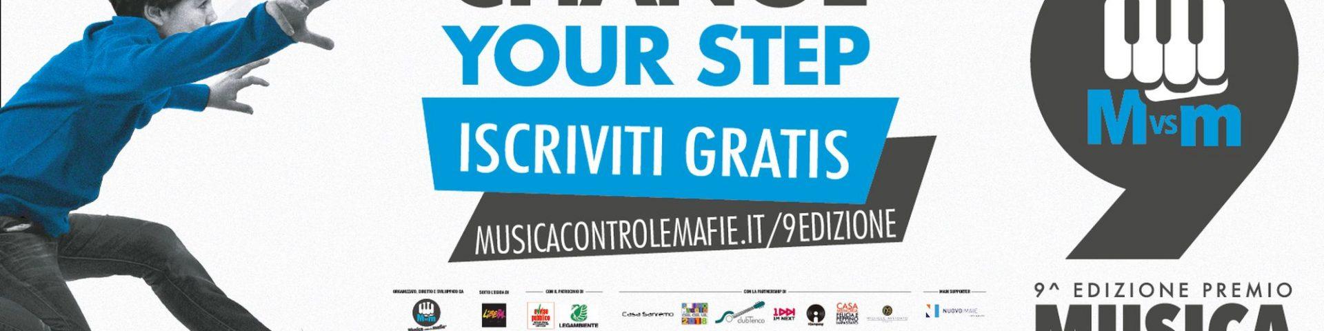 Premio Musica contro le Mafie 2018: aperte le iscrizioni