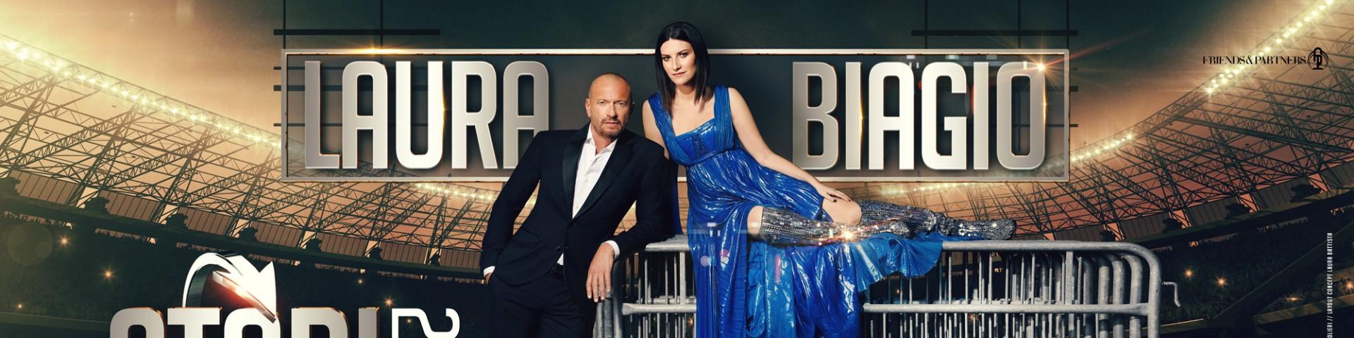 Laura Pausini e Biagio Antonacci a Milano: biglietti disponibili per il 5 luglio