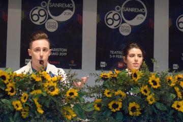 """Sanremo 2019, Federica Carta e Shade: """"Un onore cantare con Cristina D'Avena"""" – Video"""