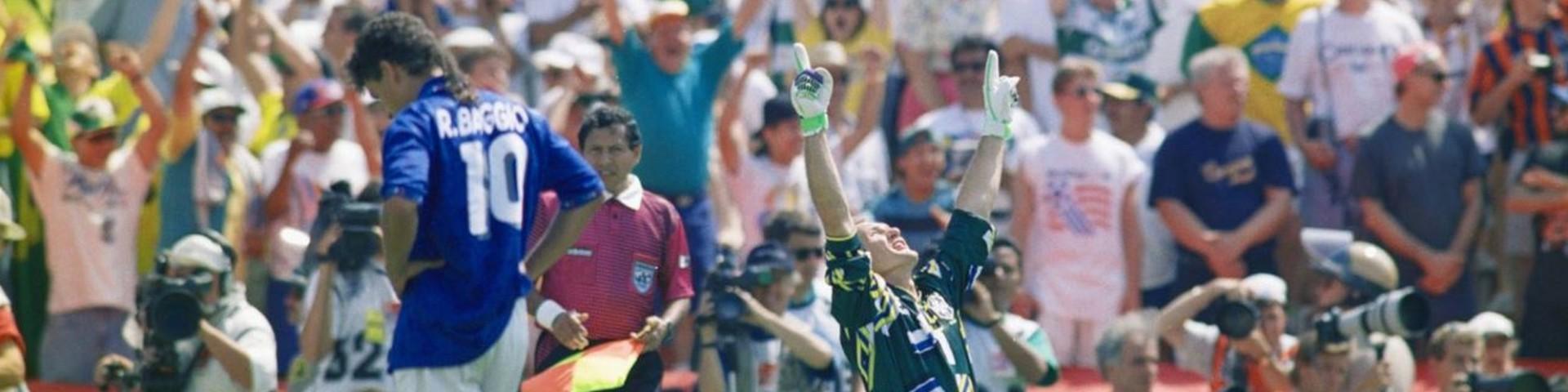 Baggio e il rigore sbagliato ai Mondiali di USA '94 - Video