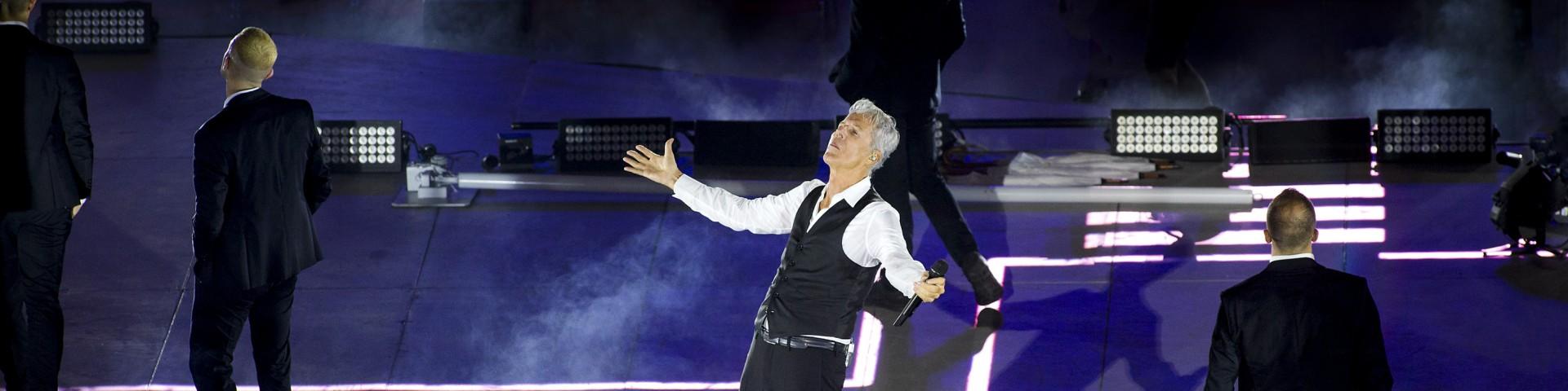 Claudio Baglioni in concerto