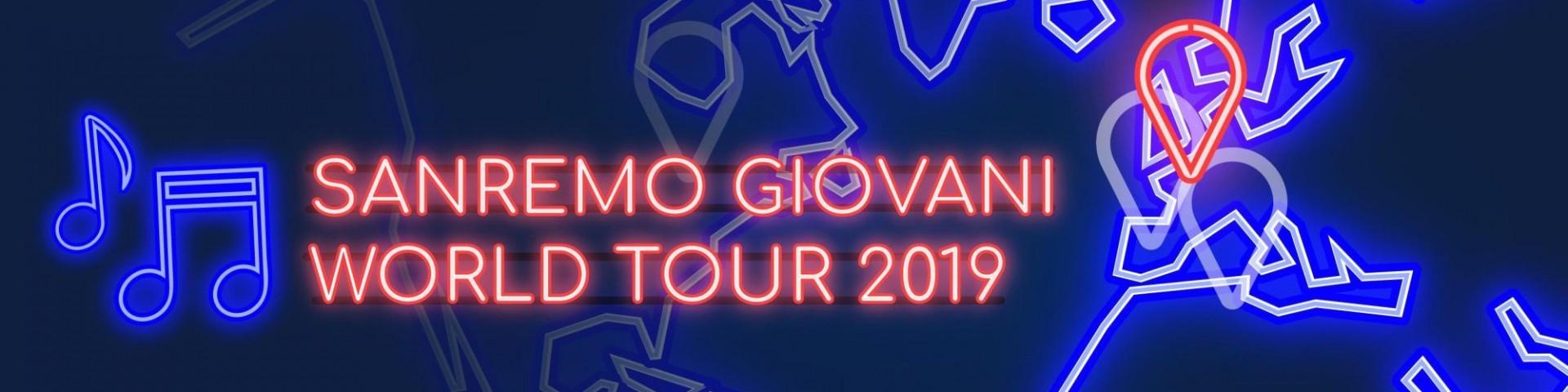 Sanremo Giovani World Tour parte da Roma: tutti i dettagli