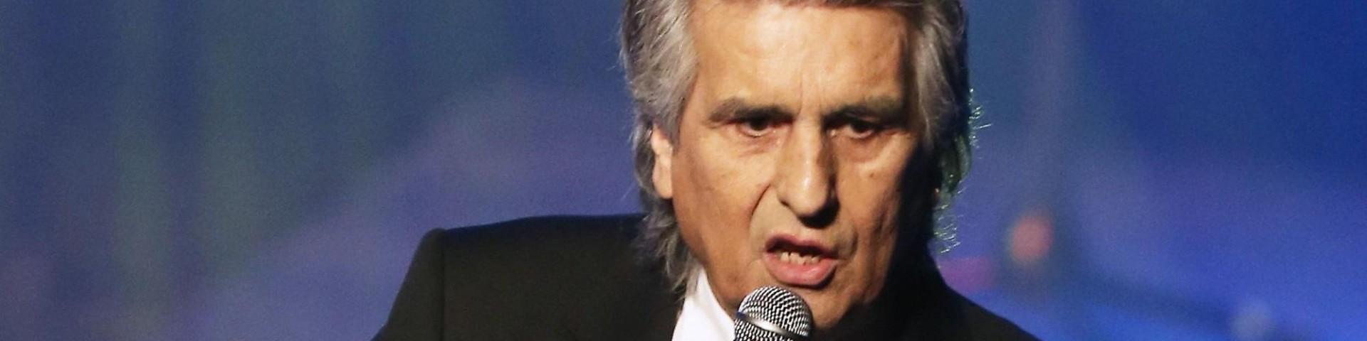 Toto Cutugno: anche lui nella lista nera ucraina dopo Al Bano