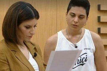 "Laura Pausini a Giordana Angi: ""Vorrei scrivessi per me"" - Video"