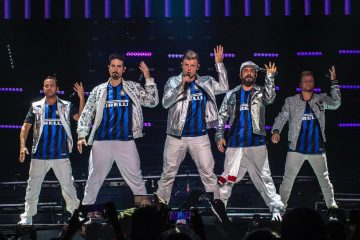 I Backstreet Boys infiammano Milano per il DNA World Tour