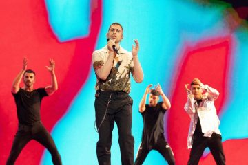 Mahmood: video dell'esibizione all'Eurovision Song Contest 2019