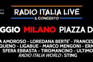 Radio Italia Live – Il Concerto 2019 a Milano: orario metro e misure di sicurezza