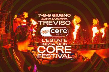Core Festival 2019 a Treviso dal 7 al 9 giugno: il cast completo