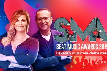 Seat Music Awards 2019: scaletta e ordine di uscita 23 giugno