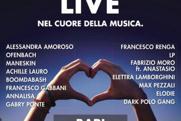 Battiti Live 2019 a Bari: annunciati i cantanti dell'ultima tappa