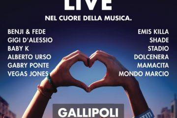 Battiti Live 2019 a Gallipoli: annunciati i cantanti della quarta tappa