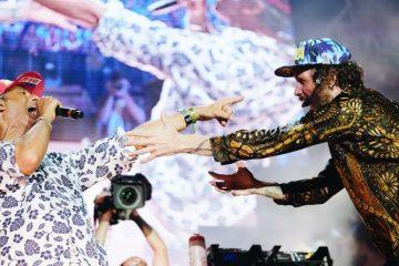 Jovanotti e Fiorello a Olbia insieme per Jova Beach Party - Foto