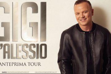 Gigi D'Alessio in concerto nel 2020: disponibili i biglietti per Milano e Roma