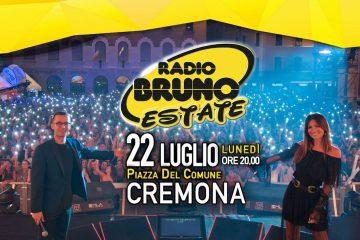 Radio Bruno Estate 2019 a Cremona: scaletta e ordine di uscita