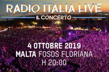 Radio Italia Live – Il Concerto 2019 a Malta