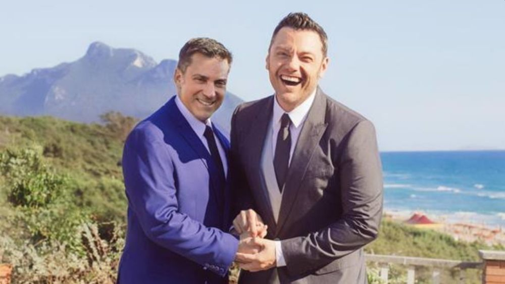 Tiziano Ferro e Victor