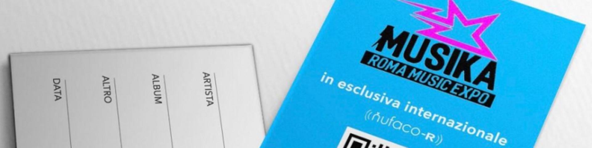 Nufaco presenta la card vuota a Expo Musika a Roma