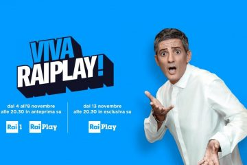 VivaRaiPlay! dell'8 novembre