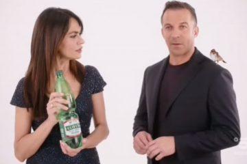 Pubblicità Uliveto con Maria Grazia Cucinotta e Alex Del Piero (Video)