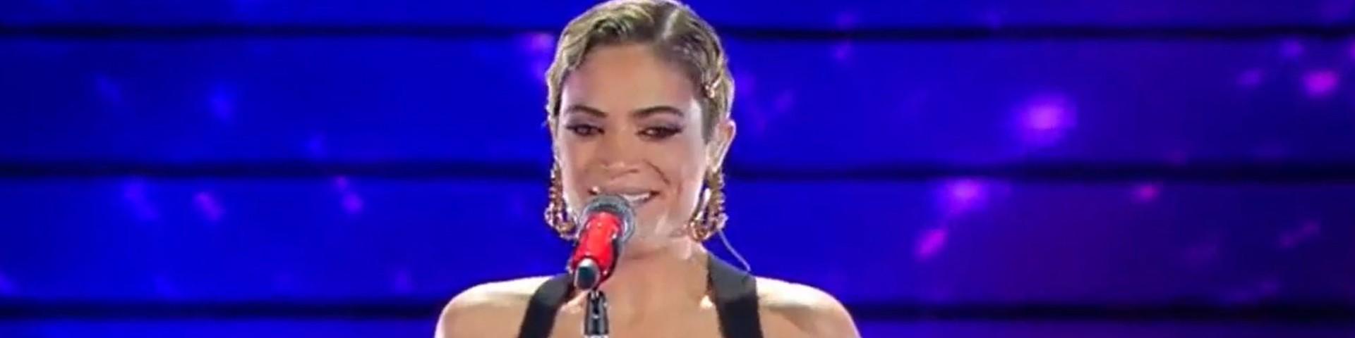 Elodie a Sanremo 2020: look ed esibizione in finale (Foto e Video)