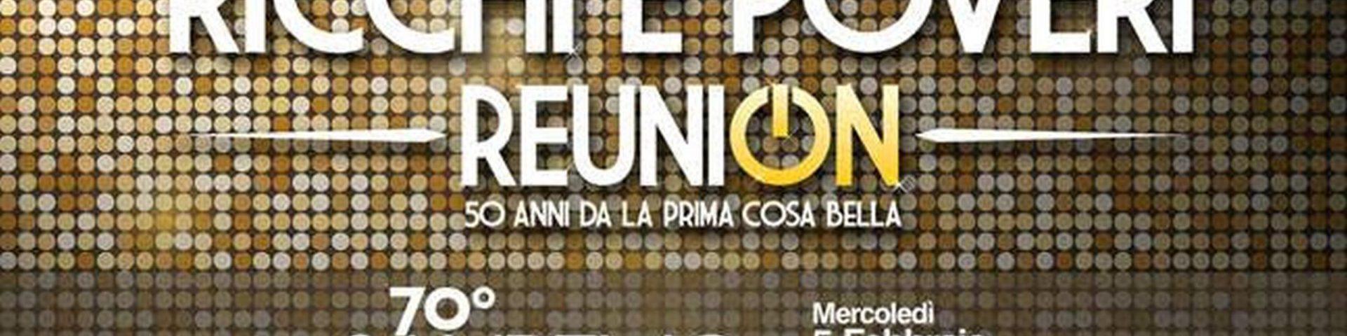 ReuniON dei Ricchi e Poveri a Sanremo 2020: tutti i dettagli