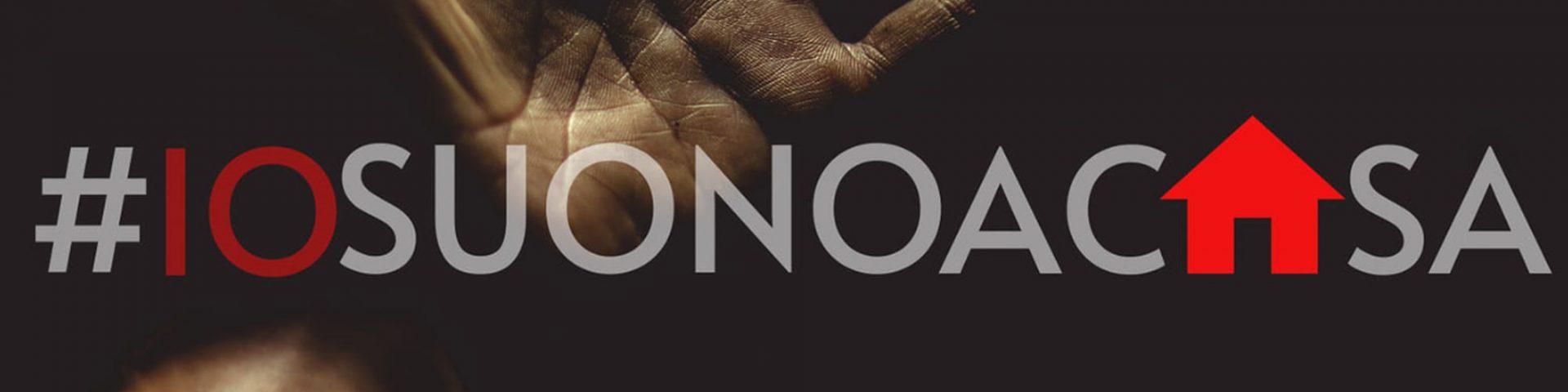 Nasce l'iniziativa #iosuonoacasa: tutti i dettagli