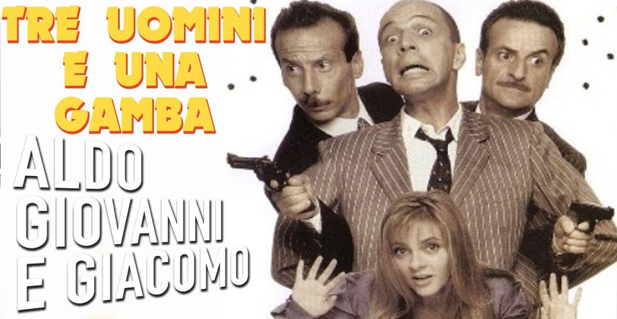 Tre Uomini E Una Gamba Curiosita Sul Film Con Aldo Giovanni E Giacomo Bellacanzone