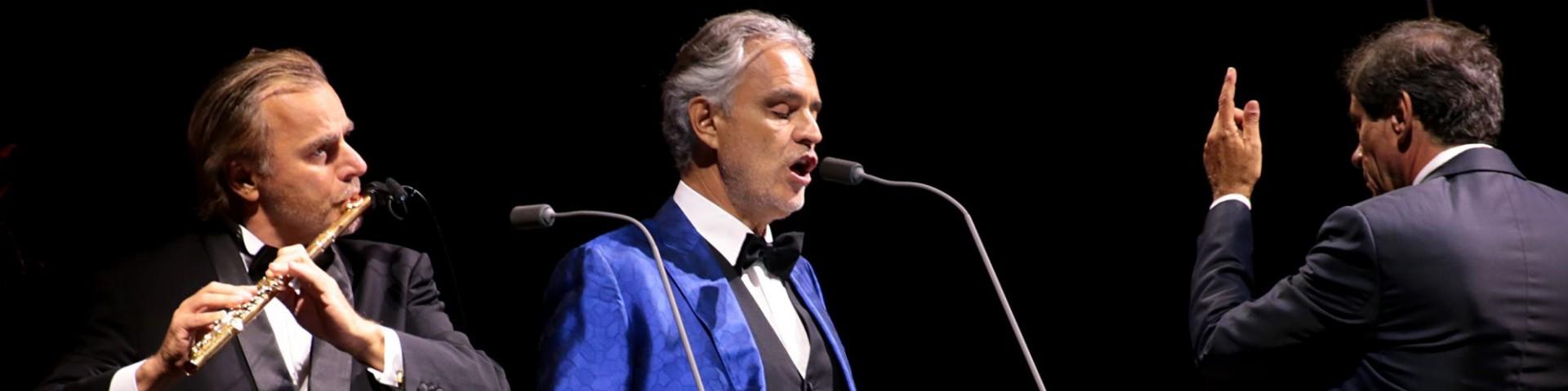 """""""Dal Circo Massimo, Andrea Bocelli!"""" è in diretta o registrato?"""