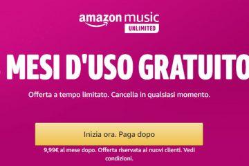Prova gratuita di Prime Video e Amazon Music: come iscriversi