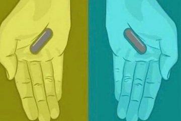 Indovinello delle pasticche grigie, blu, viola o rosse. Ragionamento e soluzione
