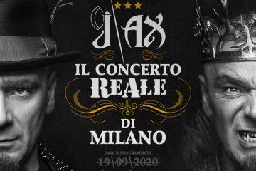 J-AX: rinviato al 2021 il concerto ReAle di Milano. Ecco la nuova data