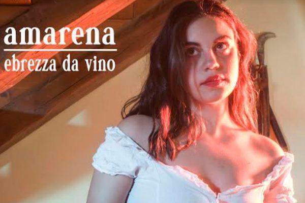 """Amarena: """"Ebrezza da vino"""" è il primo singolo della giovane cantautrice romana (Video)"""