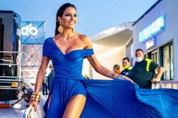 Chi è la stilista dell'abito di Elisabetta Gregoraci nella seconda puntata di Battiti Live?