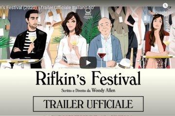"""""""Rifkin's Festival"""" di Woody Allen: trailer del film in sala dal 5 novembre"""
