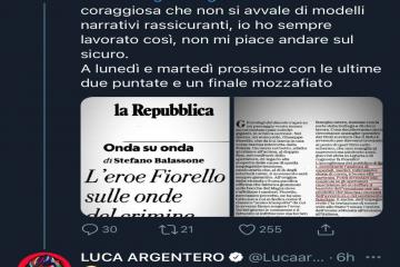 Beppe Fiorello e Luca Argentero: scontro su Twitter, ecco cos'è successo