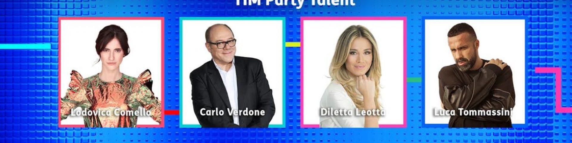 TIM Party Talent 2 con Carlo Verdone, Diletta Leotta e Luca Tommassini