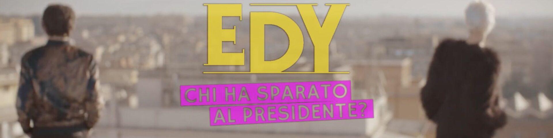 """Edy presenta """"Chi ha sparato al Presidente?"""": la video intervista"""