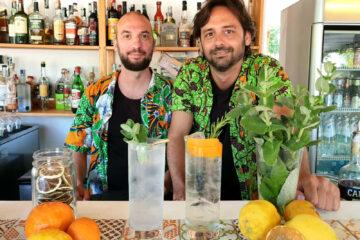 Il Giardino di Lipari: il grappa tonic al mandarino spopola tra i cantanti