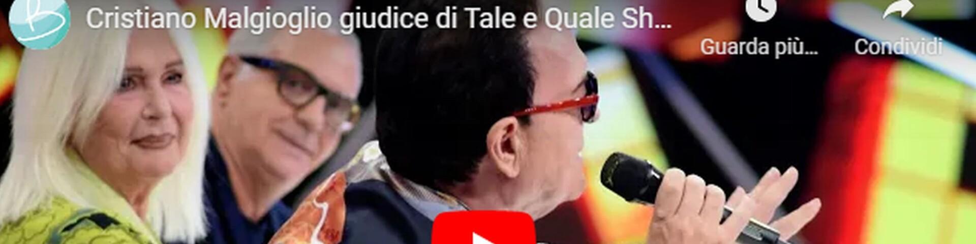 Cristiano Malgioglio a Tale e Quale Show (Video)
