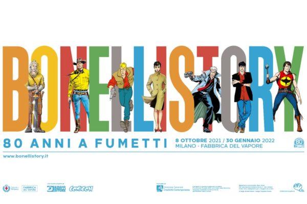 Bonelli Story: apre la mostra che celebra i fumetti italiani